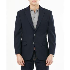 Michael Kors Men's Modern-Fit Stretch Solid Blazer for $95