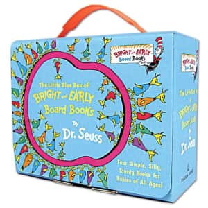 Dr. Seuss Little Blue Box of Bright and Early Board Books for $8