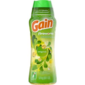 Gain Fireworks Laundry Scent Booster for $8.98 via Sub & Save