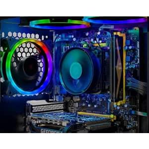 SkyTech Shadow Gaming Computer PC Desktop - Ryzen 5 3600 6-Core 3.6GHz, GTX 1660 Ti 6G, 500G SSD, for $1,569