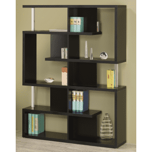 """Coaster Home Furnishings 63"""" 5-Tier Geometric Bookcase for $182"""