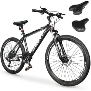 """Sirdar S-900 Adults' 27-Speed 27.5"""" Mountain Bike for $369"""