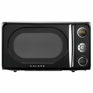 Galanz GLCMKA07BKR-07 Microwave Oven, LED Lighting, Pull Handle Design, Child Lock, 3.1 Cu Ft, for $76