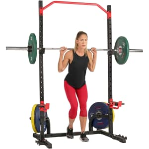 Sunny Health & Fitness Power Zone Squat Stand for $224