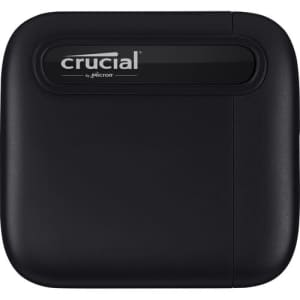 Crucial X6 2TB USB 3.2 Portable SSD for $185