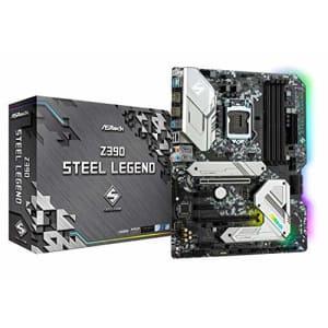 ASRock Intel 8th & 9th Generation CPU (Soket 1151) Z390 Chipset ATX Motherboard Z390 Steel Legend for $201