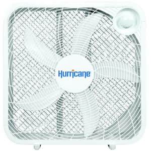 Hurricane HGC736501 Floor Fan-20 Inch, Classic Series, 3 Energy Efficient Speed Settings Compact for $35