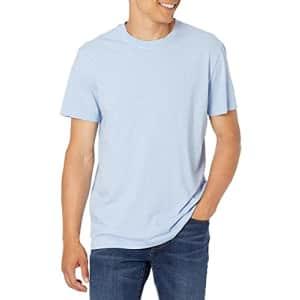 Calvin Klein Men's Short Sleeve Monogram Logo T-Shirt, SERENTIY, Small for $24