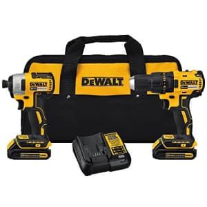 DEWALT 20V MAX Cordless Drill Combo Kit, Brushless, (DCK277C2) for $229