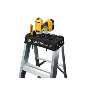 Louisville Ladder AS3005 Aluminum 5-foot ladder 300-Pound Duty Rating, 5 for $154