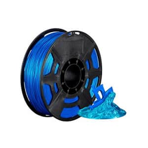 Monoprice Hi-Gloss 3D Printer Filament PLA 1.75mm - 1kg/Spool - Blue, Works with All PLA Compatible for $28