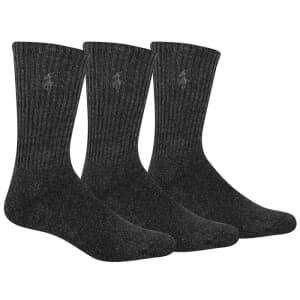 Polo Ralph Lauren Men's Socks 3-Pack for $9