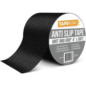 """Tape King 4"""" x 30ft. Anti-Slip Tape for $11 at checkout"""