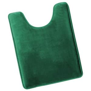Clara Clark Memory Foam Bath Mat Ultra Soft Non Slip and Absorbent Bathroom Rug, Contour Size - for $35