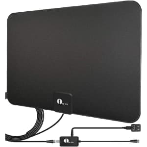 1byone 50-to-80-Mile HDTV Antenna for $27