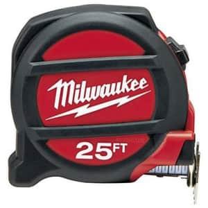 MILWAUKEE ELEC TOOL 48-22-5126 Tape Measure, 25' for $66