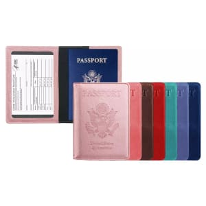 RFID Vaccination Card & Passport Holder for $9
