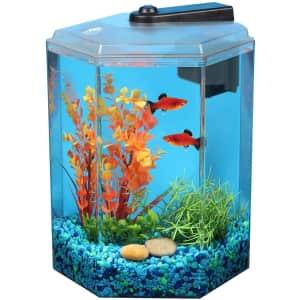 Imagitarium 1.7-Gallon Hexagonal Aquarium for $24