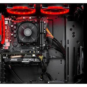 SkyTech Shadow Gaming Computer PC Desktop - Ryzen 5 3600 6-Core 3.6GHz, 1660 Super 6G, 1TB SSD, for $2,640