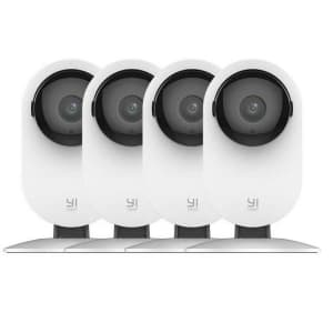 YI Wireless IP Security Camera 4-Pack for $59