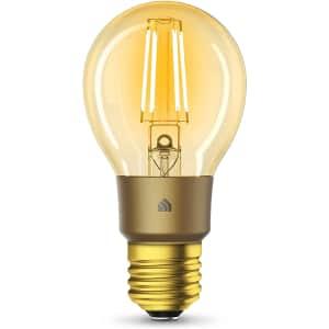 TP-Link Kasa Smart WiFi LED Bulb for $17