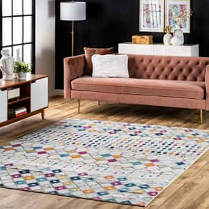 nuLOOM Moroccan Blythe Area Rug, 5' Square, Multi for $64