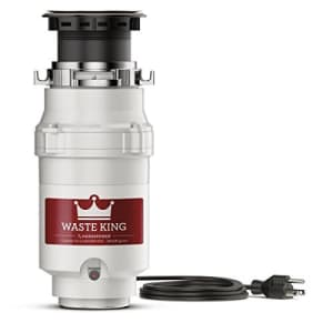 Waste King Legend Series 1/3-HP Continuous Feed Garbage Disposal for $47