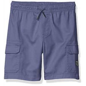 Nautica Boys' Cargo Pocket Drawstring Shorts, Ink, Large (14/16) for $35
