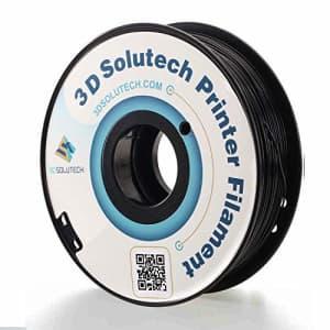 3D Solutech - PETG175BLK Real Black 1.75mm PETG 3D Printer Filament 2.2 LBS (1.0KG) for $23