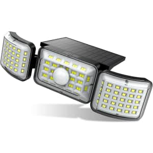 Hotime LED Solar Security Light for $12