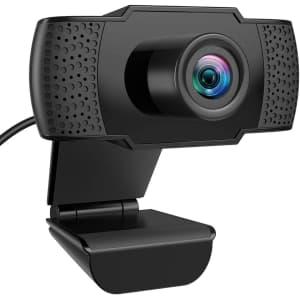 Oria 1080p Video Web Camera w/ Microphone for $23