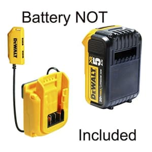 Custom LeatherCraft DeWalt DGC533 USB Charging Tool Backpack, 33 Pocket for $160