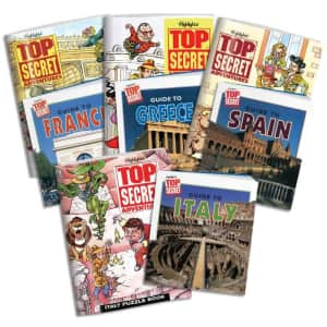 Highlights Travel & Adventure Puzzle Books at Highlights for Children: 30% off