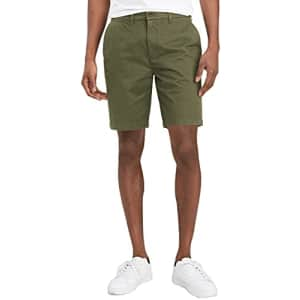 Tommy Hilfiger Men's Chino Shorts, Beetle, 30 for $88