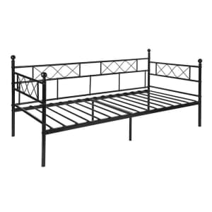 Andover Mills Bristlewood Twin Steel Daybed for $137