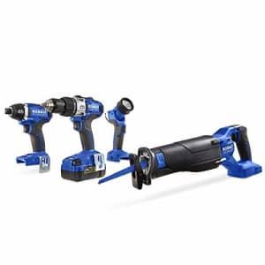 Kobalt 4-Tool 24V Max Brushless Kit for $284