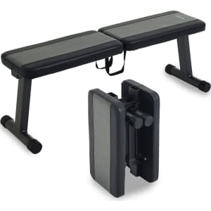 Prevention Flat Foldable Weight Bench for $110