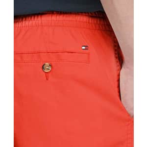 Tommy Hilfiger Men's Stretch Waistband Shorts, Exotic Coral, MD for $84