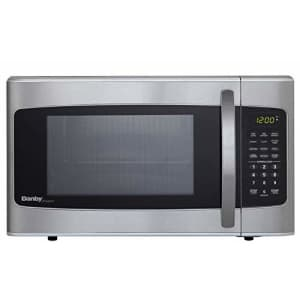 Danby 1.1-cu ft 1000W Microwave, Stainless Steel for $257