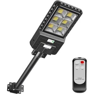 Awanfi Solar Street Flood Light for $51