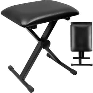 Trisens Portable Piano Bench for $20