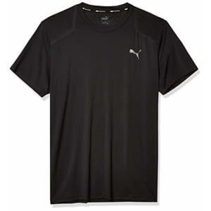 PUMA Men's T-Shirt, Black, S for $30