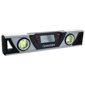 Husky THD9403 10 Inch Multi-Function Digital Dual Vial Level for Level and Plumb w/ Inverting LCD for $51