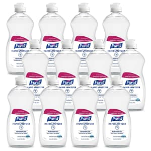 Purell Advanced 12-oz. Hand Sanitizer 12-Pack for $14