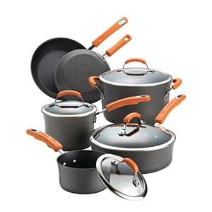 Rachael Ray 87375 10-pc. nonstick hard anodized II cookware set for $268