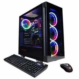 CyberpowerPC Gamer Supreme Liquid Cool Gaming PC, AMD Ryzen 7 3800X 3.9GHz, Radeon RX 5700 XT 8GB, for $2,898