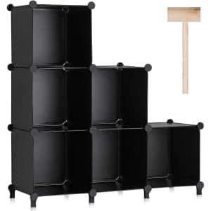 Puroma 6-Cube Storage Organizer for $20
