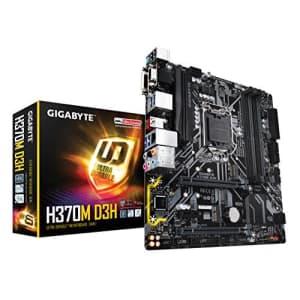 GIGABYTE H370M D3H (LGA1151/Intel/Micro ATX/2-Way Crossfire/DDR4/USB 3.1 Gen 2 (USB3.1) Type for $174