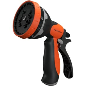 Faimikit 10-Pattern Water Hose Nozzle Sprayer for $7