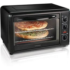 Hamilton Beach Counter Top Oven with Convection & Rotisserie Extra Large Capacity - 31101 for $69